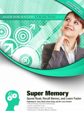 9781441775108: Super Memory: Speed Read, Recall Names, and Learn Faster (Made for Success Collection)