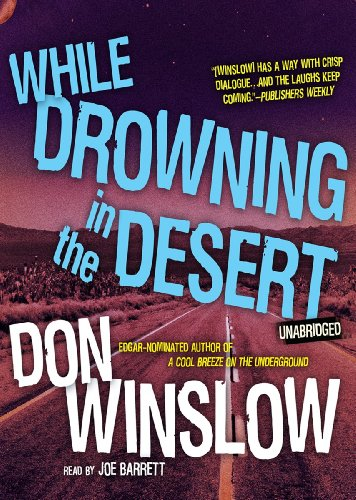 9781441790606: While Drowning in the Desert (Neal Carey Mystery, Book 5)