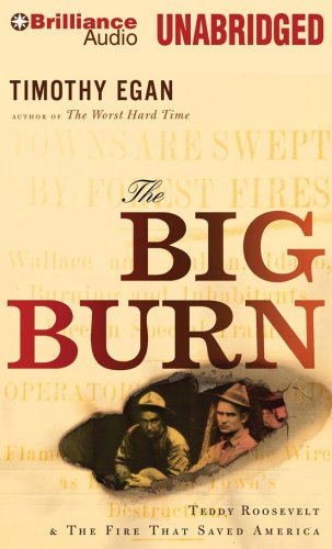 9781441806949: The Big Burn: Teddy Roosevelt & the Fire That Saved America