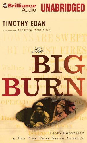 9781441806963: The Big Burn: Teddy Roosevelt & the Fire That Saved America