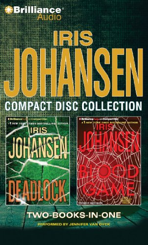 9781441861634: Iris Johansen CD Collection 2: Deadlock, Blood Game