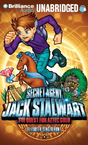 9781441896001: Secret Agent Jack Stalwart: Book 10: The Quest for Aztec Gold: Mexico
