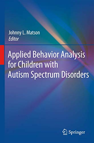 9781441900876: Applied Behavior Analysis for Children with Autism Spectrum Disorders