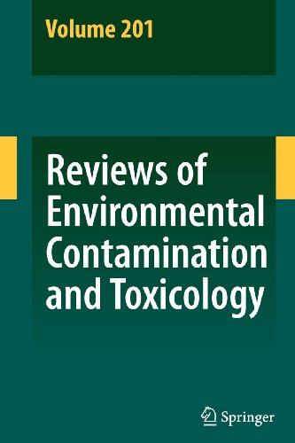 9781441901095: Reviews of Environmental Contamination and Toxicology 201