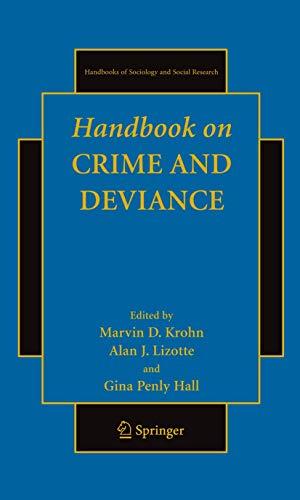 Handbook on Crime and Deviance (Hardback)