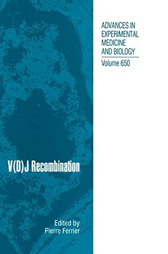 V(D)J Recombination: Ferrier, Pierre Elie (Editor)