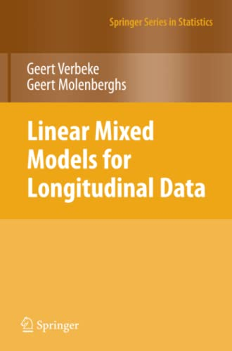 9781441902993: Linear Mixed Models for Longitudinal Data (Springer Series in Statistics)