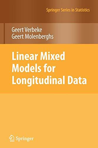 9781441902993: Linear Mixed Models for Longitudinal Data (Springer Series in Statistics)