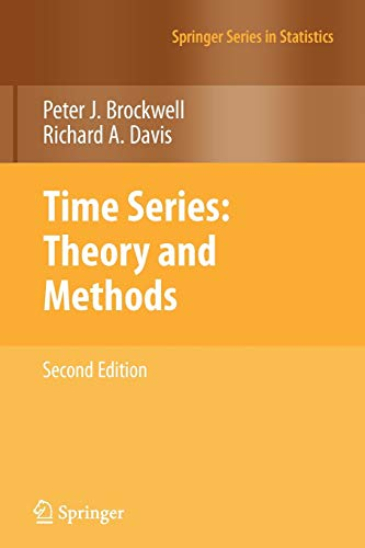 9781441903198: Time Series: Theory and Methods (Springer Series in Statistics)