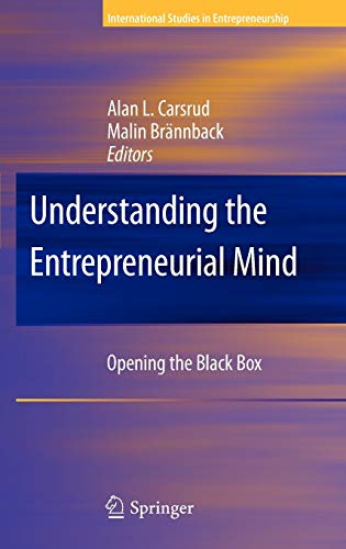 9781441904423: Understanding the Entrepreneurial Mind: Opening the Black Box (International Studies in Entrepreneurship)