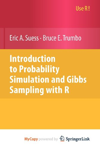 9781441906939: Introduction to Probability Simulation and Gibbs Sampling with R