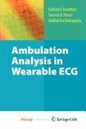 9781441907257: Ambulation Analysis in Wearable ECG