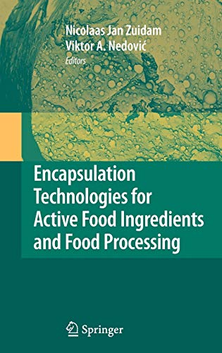 9781441910073: Encapsulation Technologies for Active Food Ingredients and Food Processing