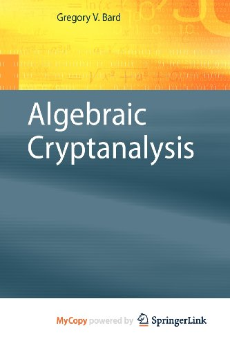 9781441910196: Algebraic Cryptanalysis