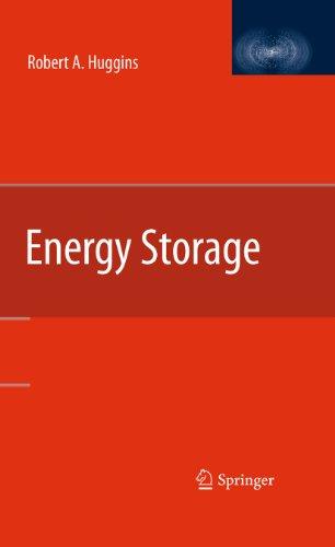 9781441910233: Energy Storage