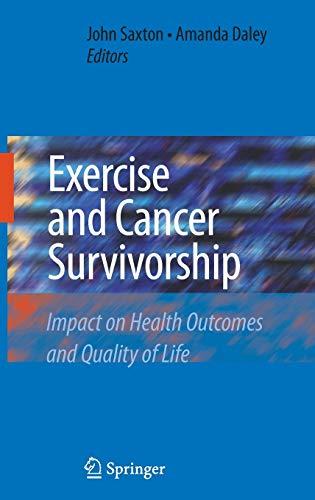 Exercise and Cancer Survivorship: John Saxton