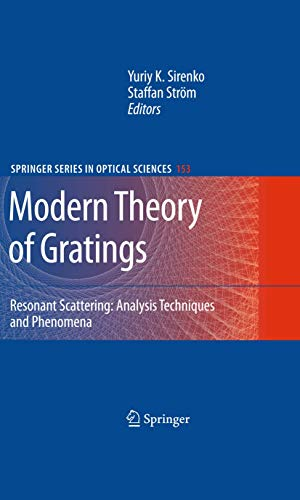 Modern Theory of Gratings: Resonant Scattering: Analysis Techniques and Phenomena