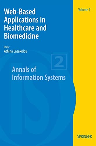 Web-Based Applications in Healthcare and Biomedicine: Athina Lazakidou