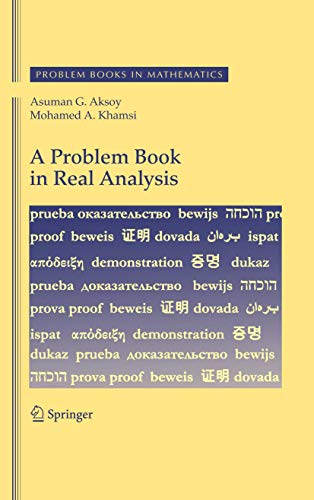 9781441912954: A Problem Book in Real Analysis (Problem Books in Mathematics)
