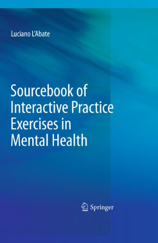 Sourcebook of Interactive Practice Exercises in Mental Health: Luciano L'abate
