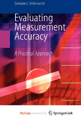 9781441914606: Evaluating Measurement Accuracy: A Practical Approach