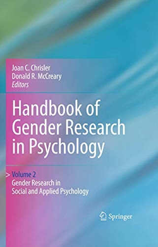 9781441914668: Handbook of Gender Research in Psychology: Volume 2: Gender Research in Social and Applied Psychology