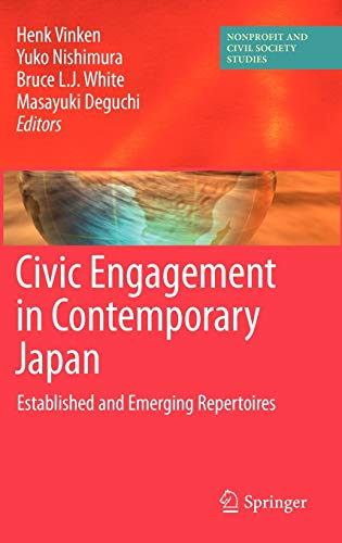 9781441915030: Civic Engagement in Contemporary Japan: Established and Emerging Repertoires (Nonprofit and Civil Society Studies)