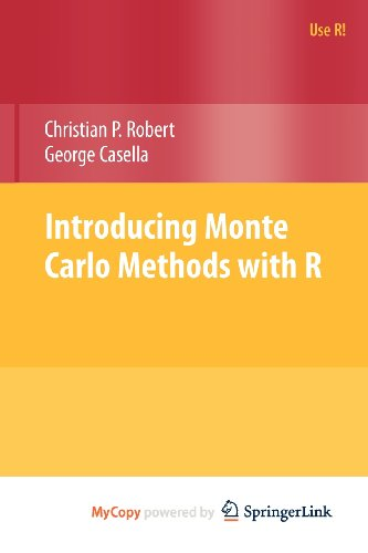 9781441915825: Introducing Monte Carlo Methods with R