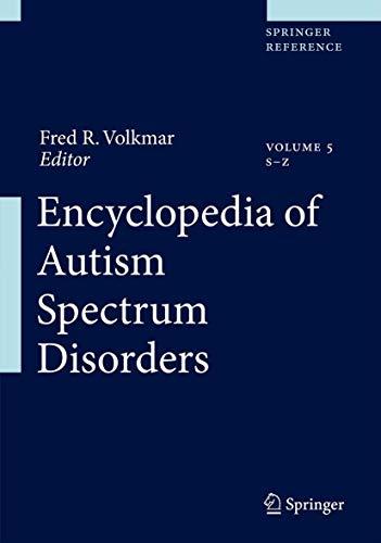 Encyclopedia of Autism Spectrum Disorders (Hardcover)