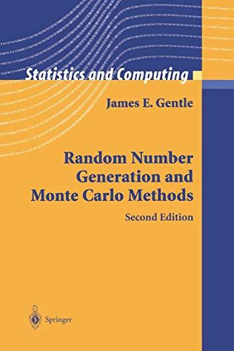 9781441918086: Random Number Generation and Monte Carlo Methods (Statistics and Computing)