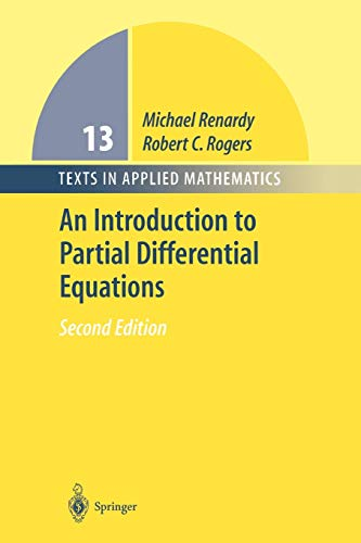 9781441918208: An Introduction to Partial Differential Equations (Texts in Applied Mathematics)