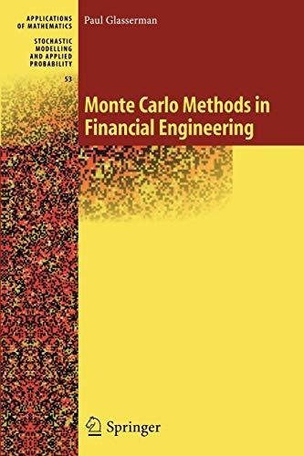 9781441918222: Monte Carlo Methods in Financial Engineering: 53