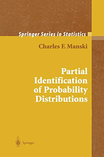 9781441918253: Partial Identification of Probability Distributions (Springer Series in Statistics)