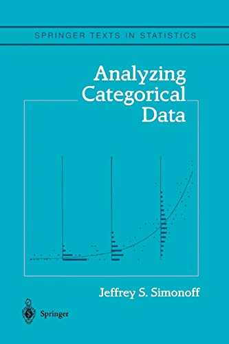 9781441918376: Analyzing Categorical Data (Springer Texts in Statistics)