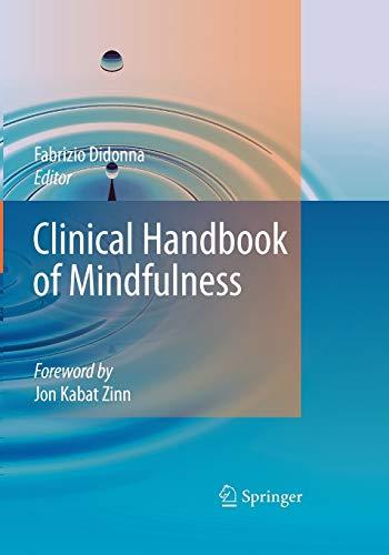 9781441918680: Clinical Handbook of Mindfulness