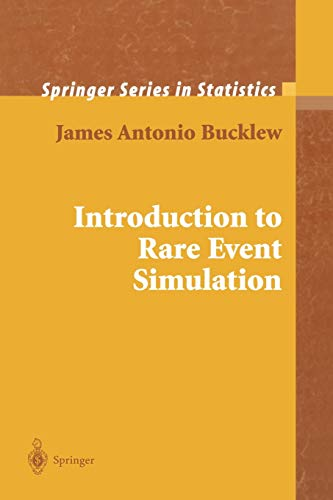 9781441918932: Introduction to Rare Event Simulation (Springer Series in Statistics)