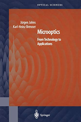 9781441919311: Microoptics: From Technology to Applications (Springer Series in Optical Sciences)