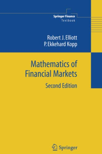 9781441919427: Mathematics of Financial Markets (Springer Finance / Springer Finance Textbooks)