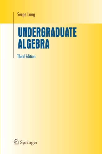 9781441919595: Undergraduate Algebra