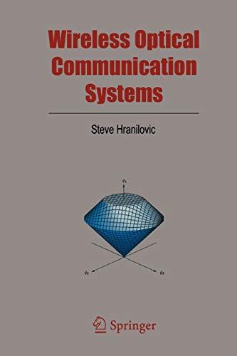 9781441919823: Wireless Optical Communication Systems