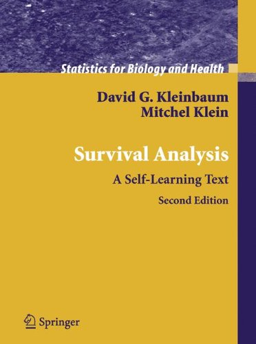9781441920188: Survival Analysis: A Self-Learning Text (Statistics for Biology and Health)