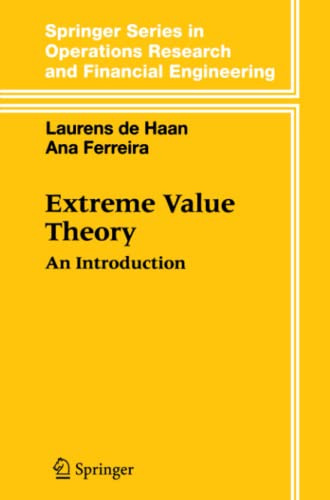 9781441920201: Extreme Value Theory: An Introduction (Springer Series in Operations Research and Financial Engineering)