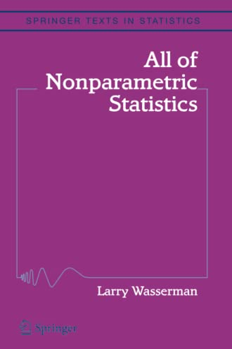 9781441920447: All of Nonparametric Statistics (Springer Texts in Statistics)