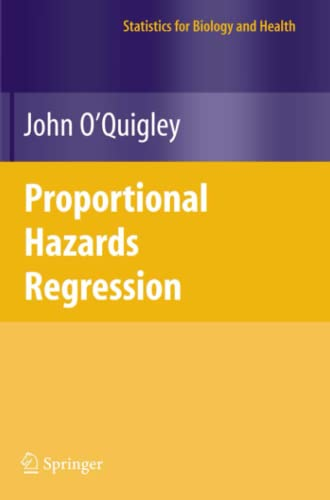 9781441920454: Proportional Hazards Regression (Statistics for Biology and Health)