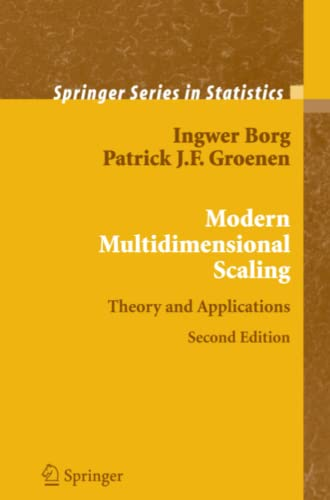 9781441920461: Modern Multidimensional Scaling: Theory and Applications (Springer Series in Statistics)