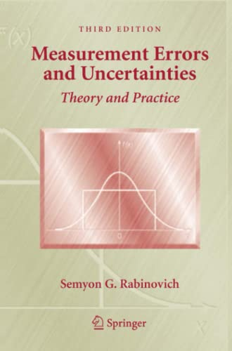 9781441920539: Measurement Errors and Uncertainties: Theory and Practice