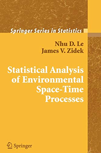 9781441920867: Statistical Analysis of Environmental Space-Time Processes (Springer Series in Statistics)