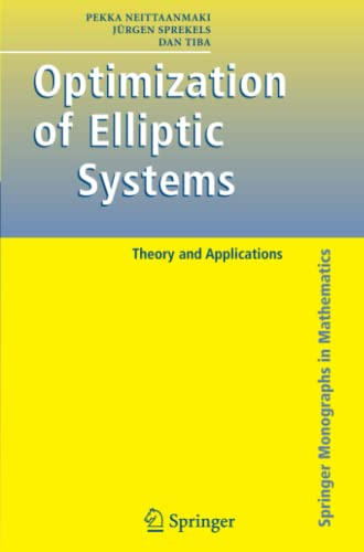 9781441920935: Optimization of Elliptic Systems: Theory and Applications