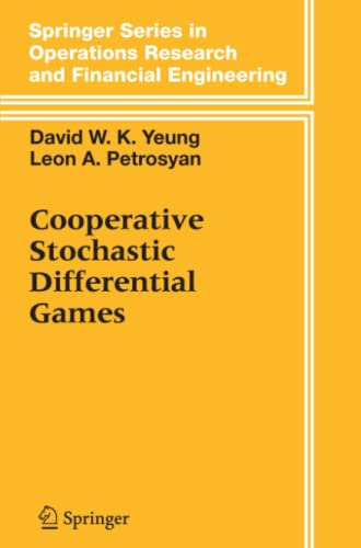 9781441920942: Cooperative Stochastic Differential Games (Springer Series in Operations Research and Financial Engineering)