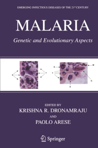 9781441921024: Malaria: Genetic and Evolutionary Aspects (Emerging Infectious Diseases of the 21st Century)